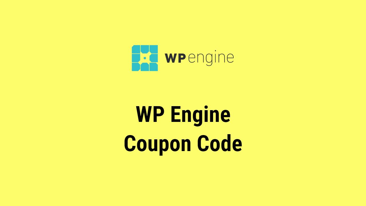 WP Engine Coupon Code