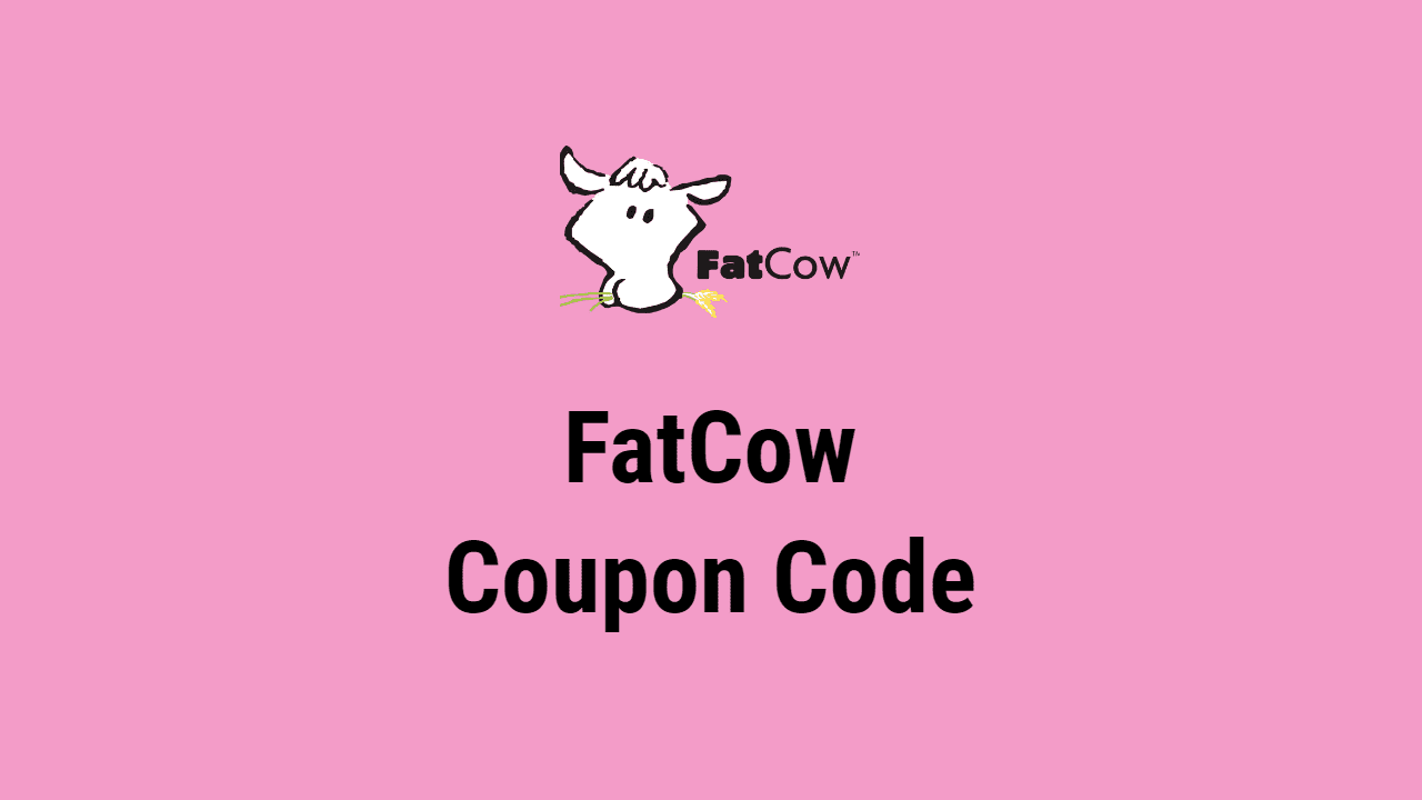 FatCow Coupon Code