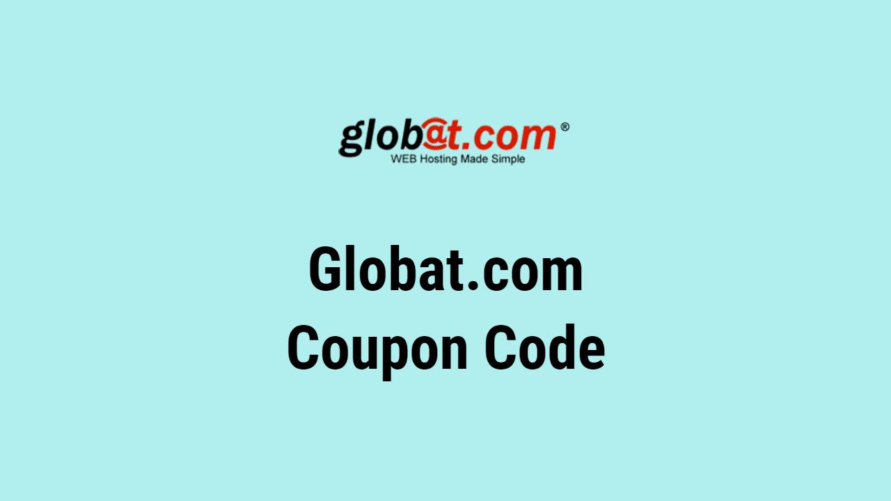 Globat.com Coupon Code