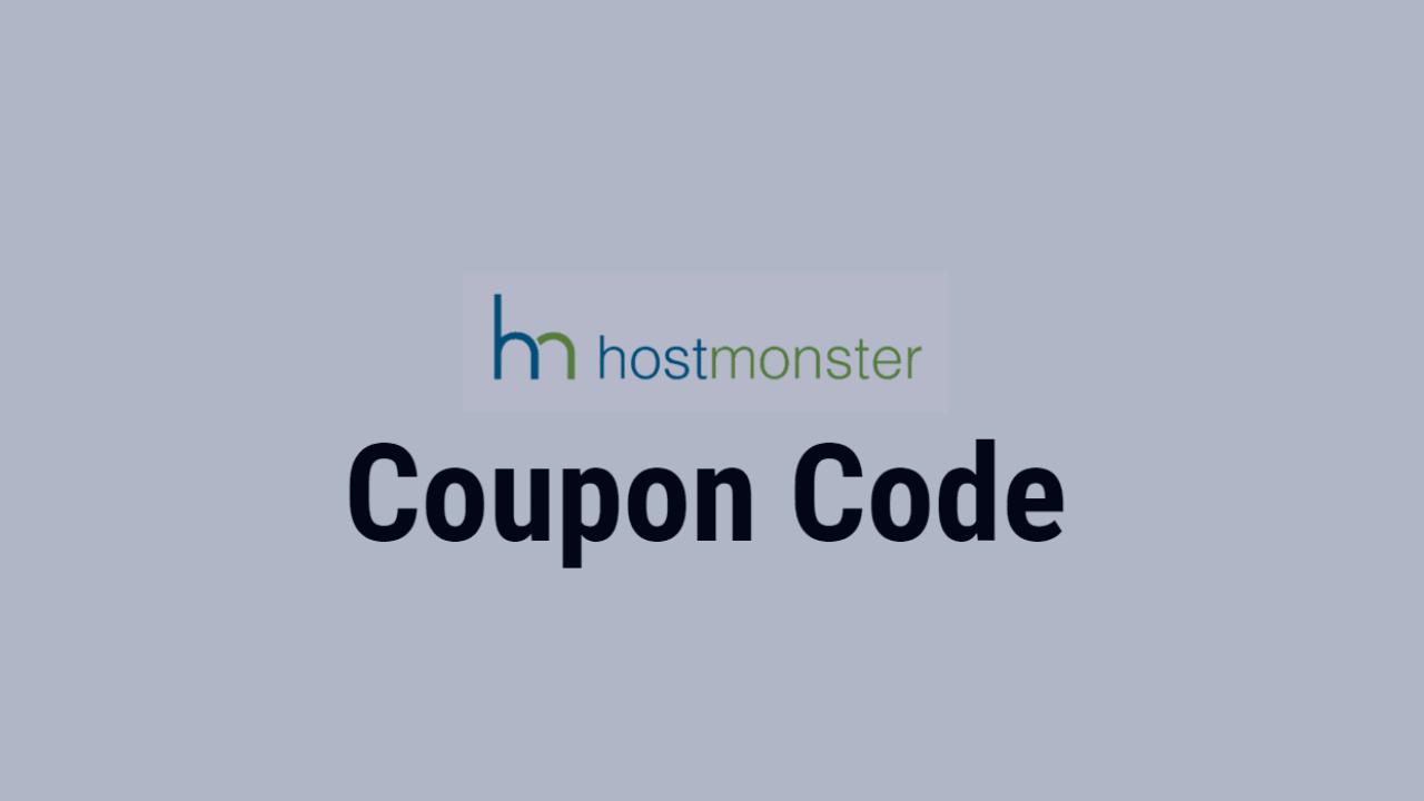 HostMonster Coupon Code