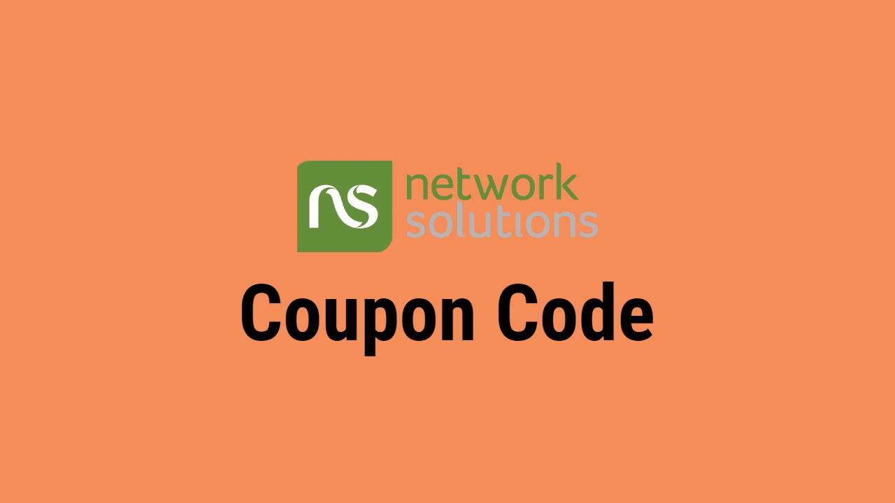 Networksolutions Coupon Code