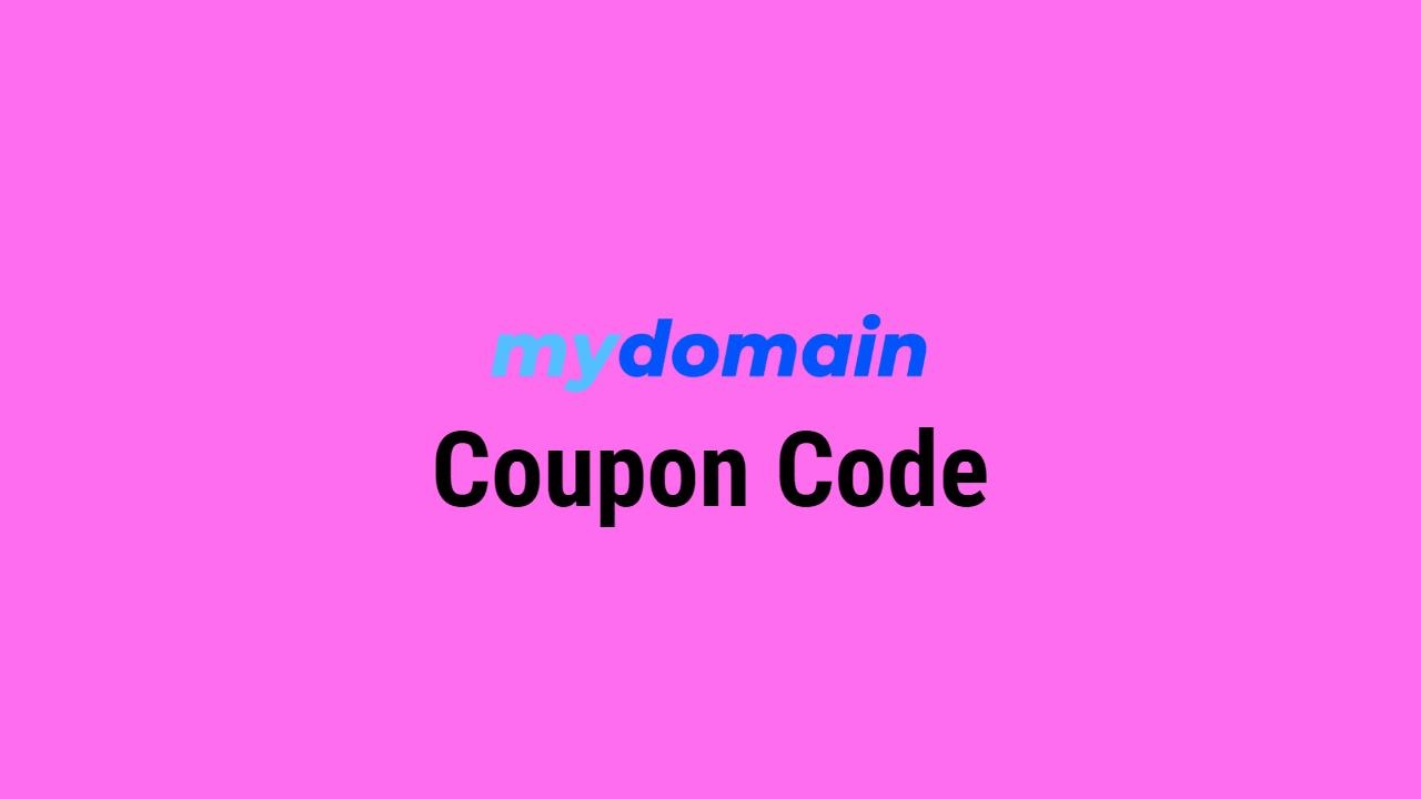 MyDomain Coupon Code